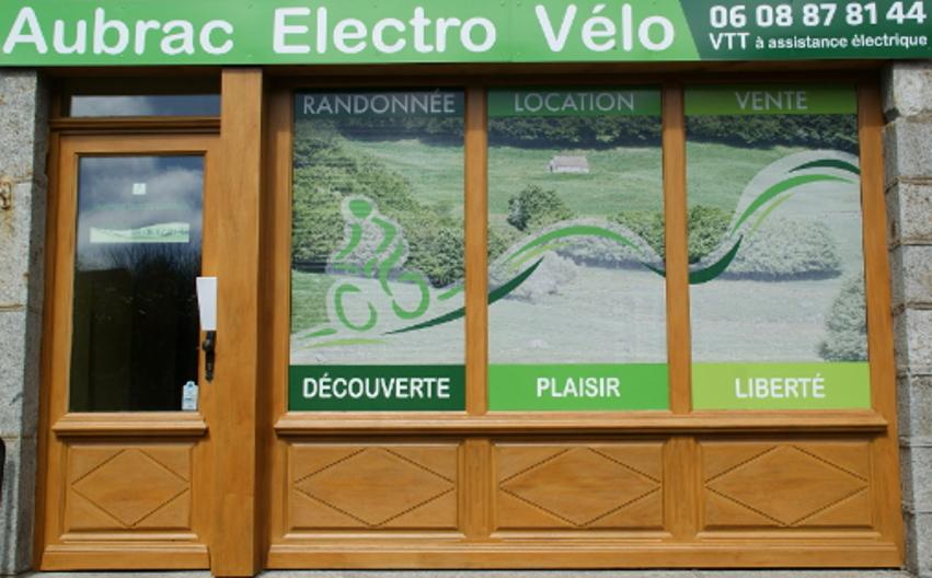 Vitrine Aubrac Électro Vélo à Nasbinals en Lozère