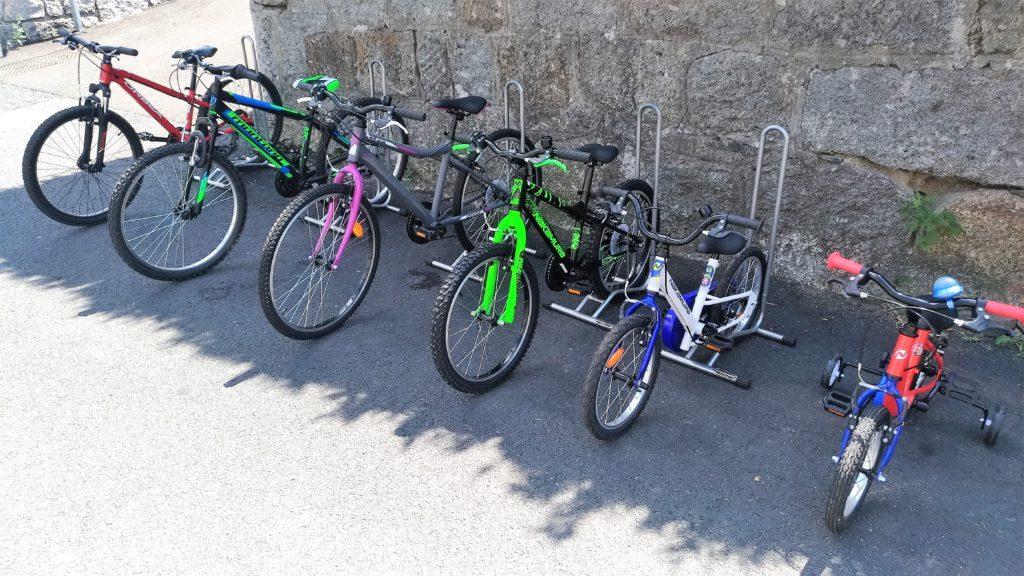 Flotte vélos enfants 14 à 24 pouces